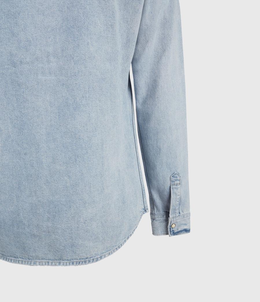 Hombres Gaya Denim Shirt (indigo) - Image 4