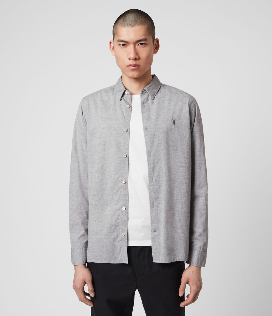 Men's Hester Shirt (grey_marl) - Image 1