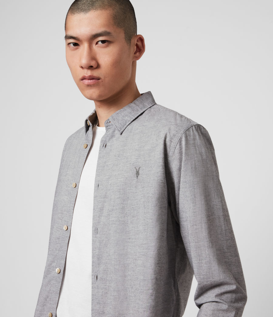 Men's Hester Shirt (grey_marl) - Image 2