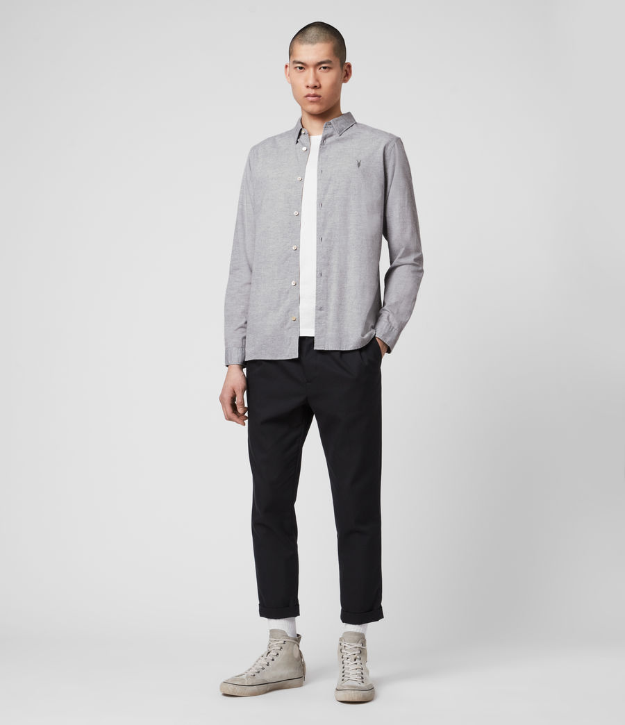 Men's Hester Shirt (grey_marl) - Image 3