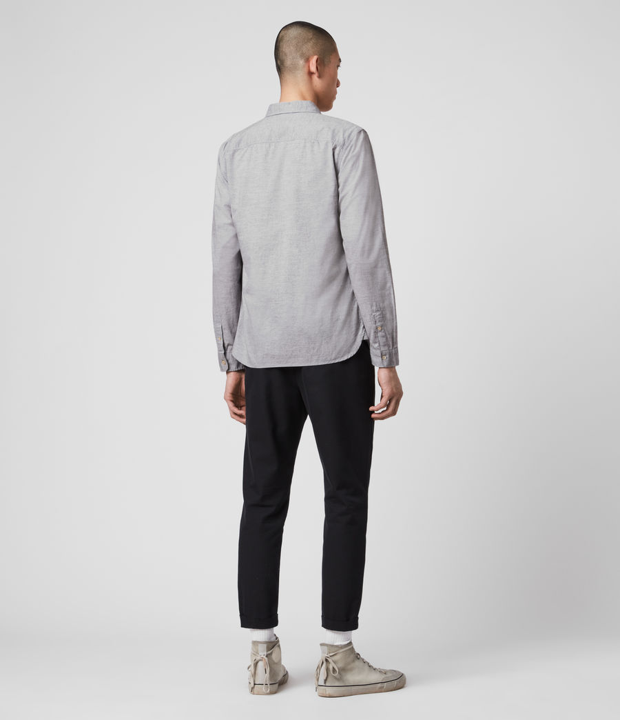 Men's Hester Shirt (grey_marl) - Image 5