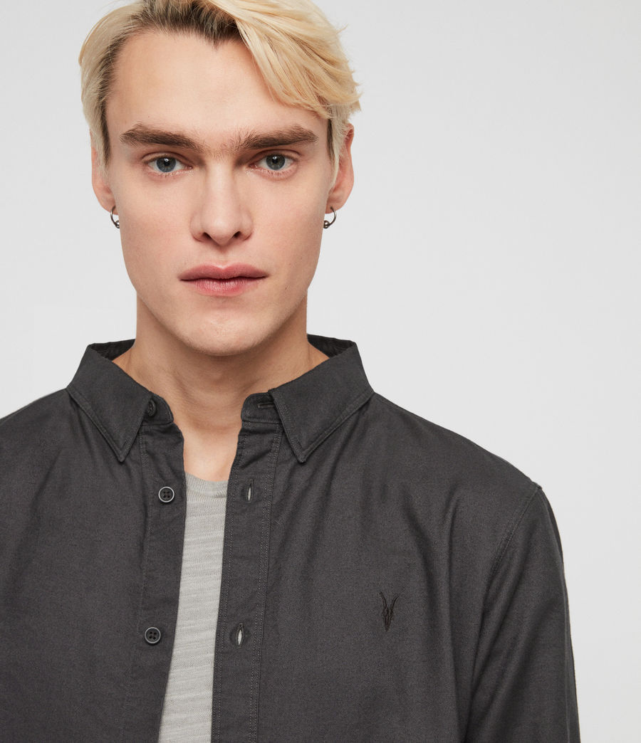 Mens Huntingdon Shirt (slate_grey) - Image 2