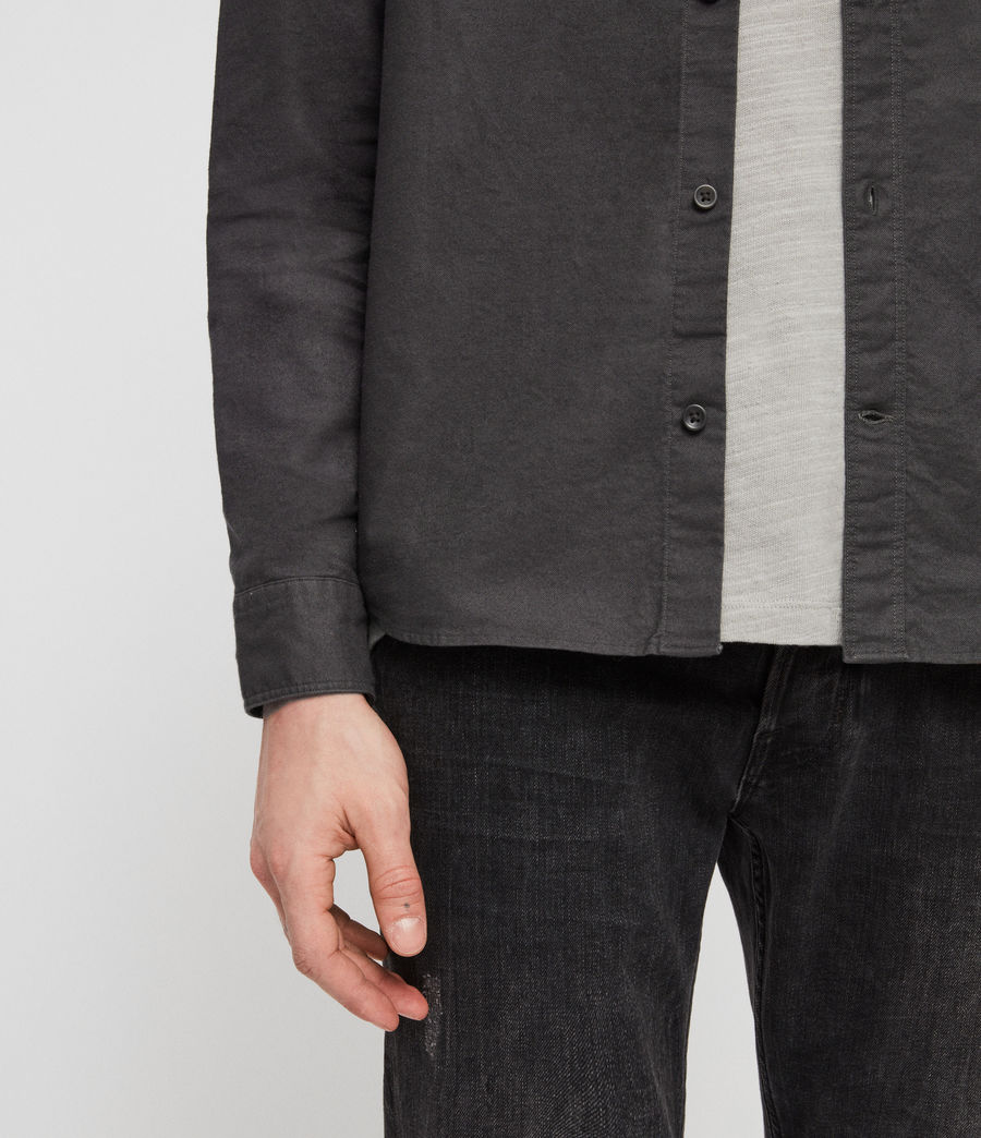 Mens Huntingdon Shirt (slate_grey) - Image 4