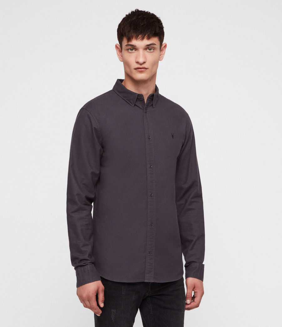 Men's Hungtingdon Shirt (charcoal_grey) - Image 1