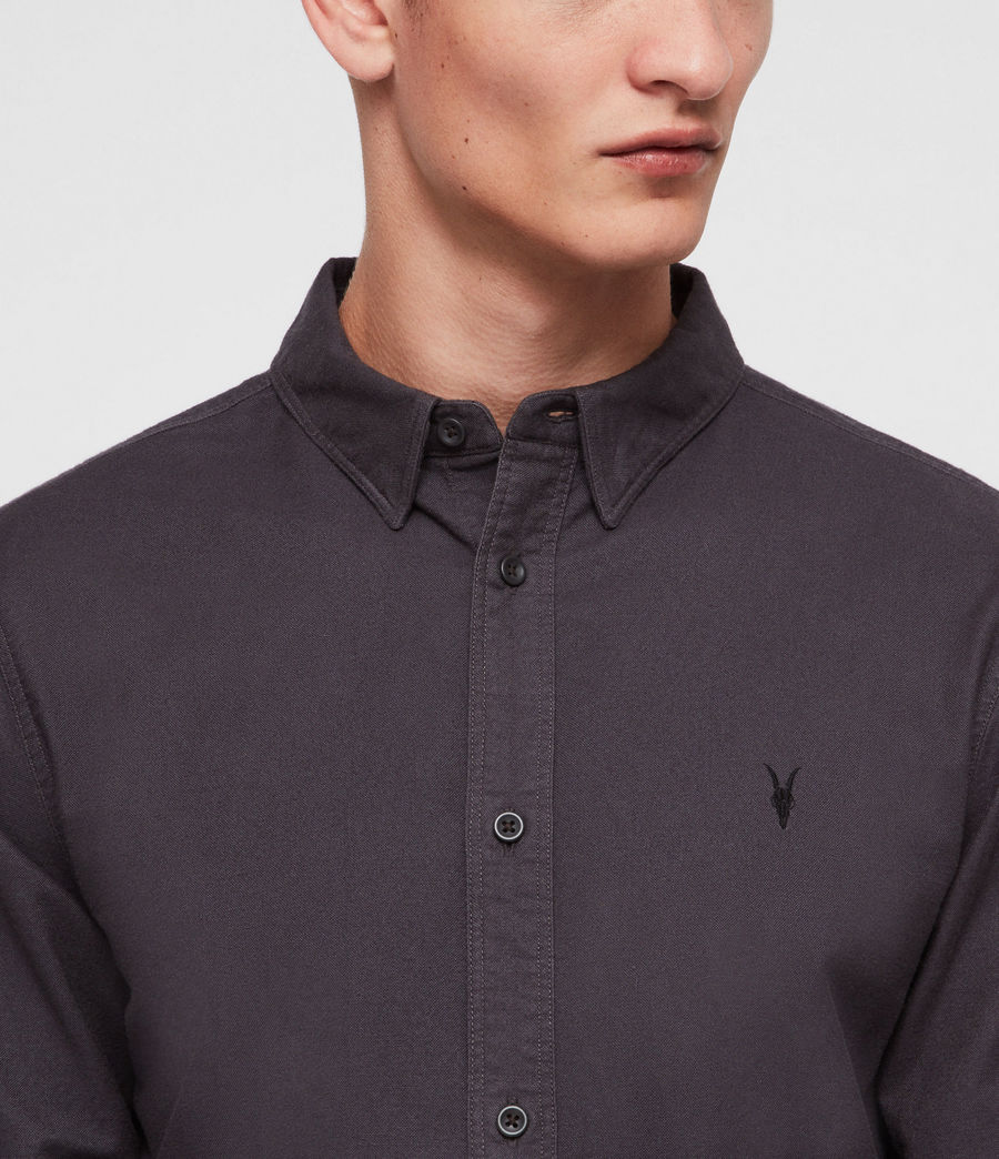 Men's Hungtingdon Shirt (charcoal_grey) - Image 2