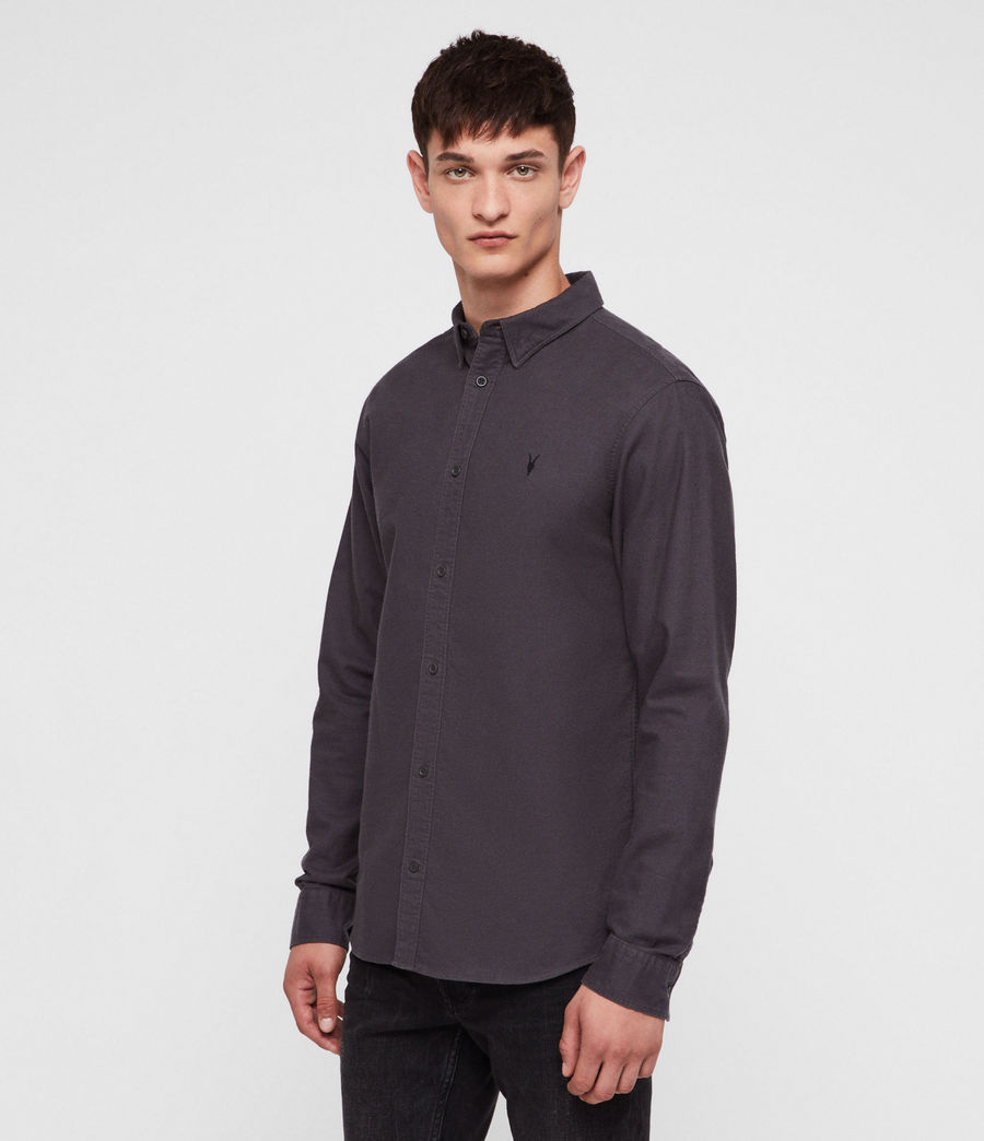 Men's Hungtingdon Shirt (charcoal_grey) - Image 3