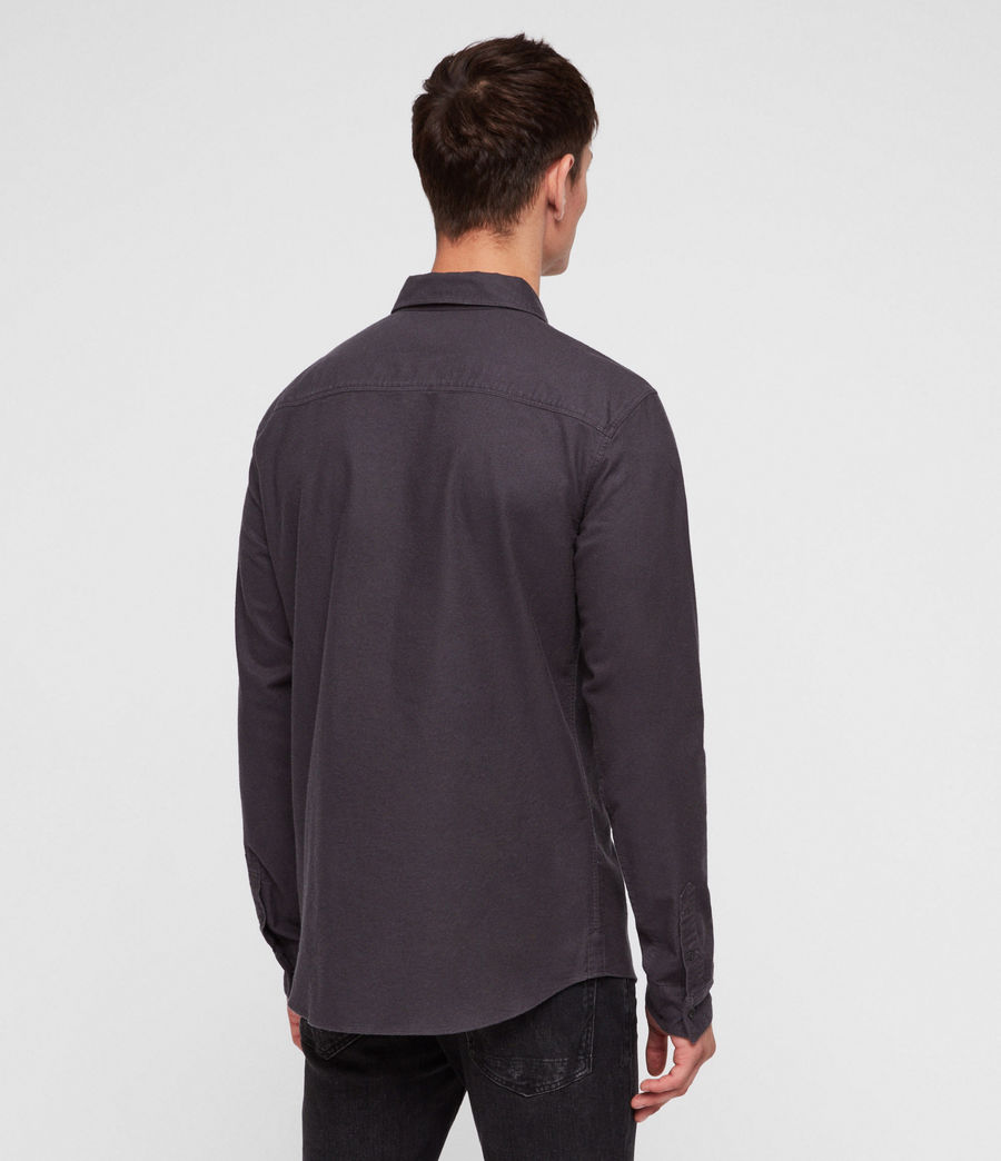 Men's Hungtingdon Shirt (charcoal_grey) - Image 4