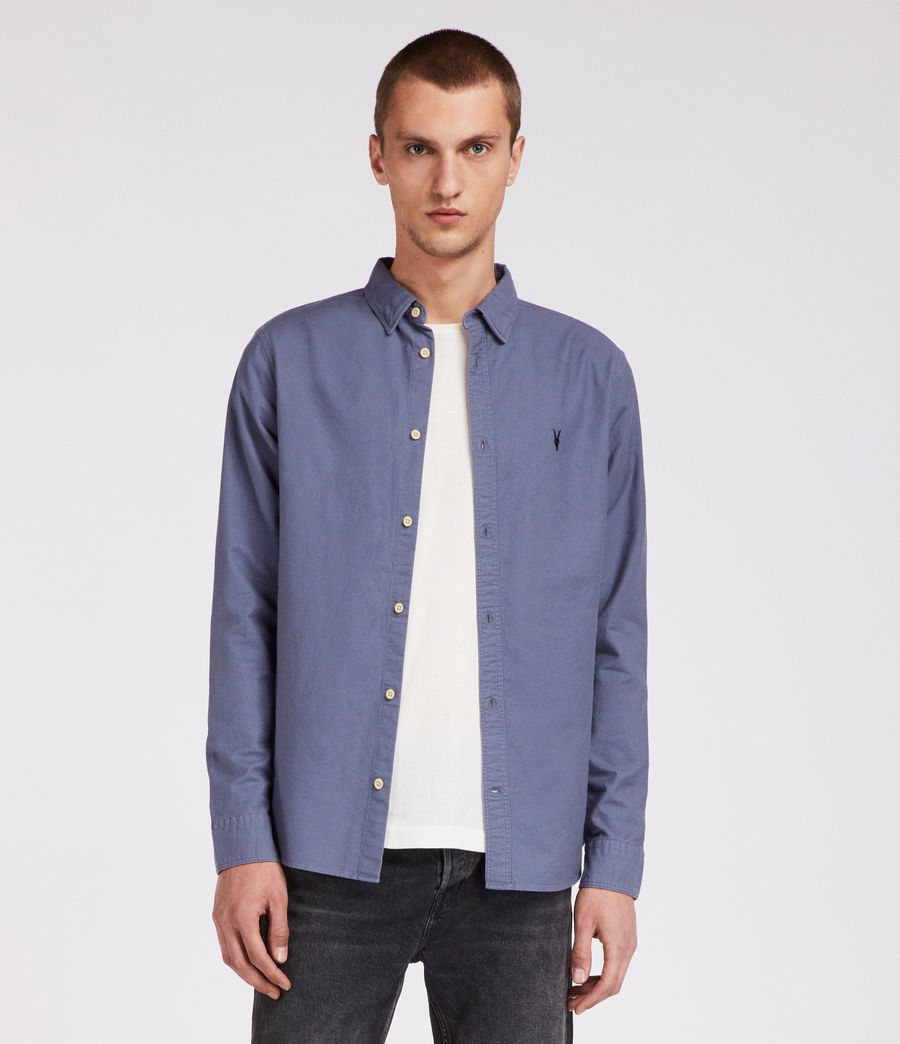 Mens Huntingdon Shirt (space_blue) - Image 1