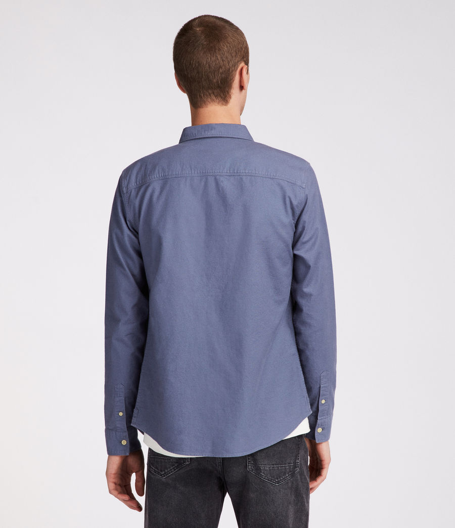 Mens Huntingdon Shirt (space_blue) - Image 4
