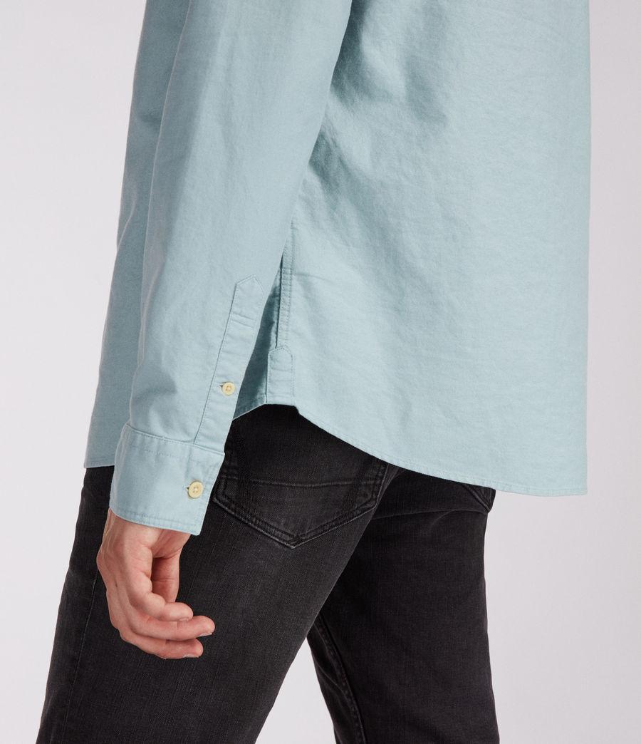 Men's Huntingdon Long Sleeve Shirt (black) - Image 4