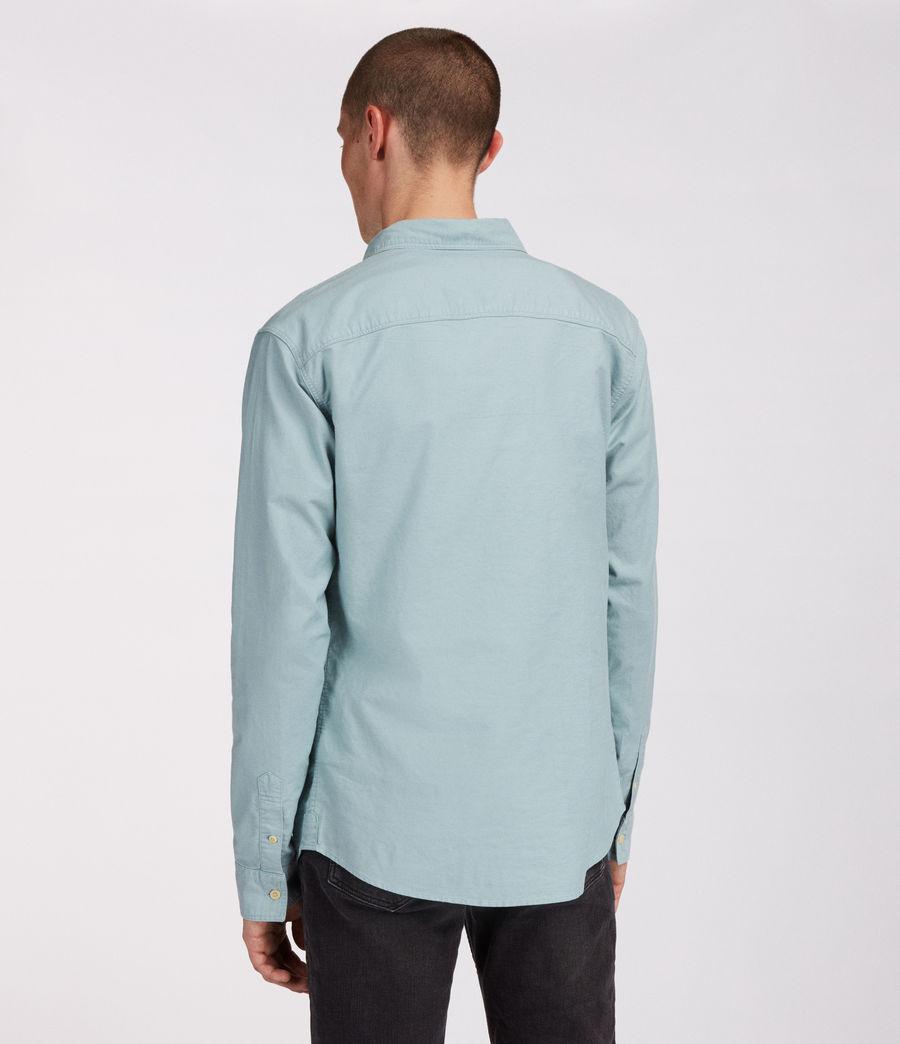Men's Huntingdon Long Sleeve Shirt (black) - Image 5