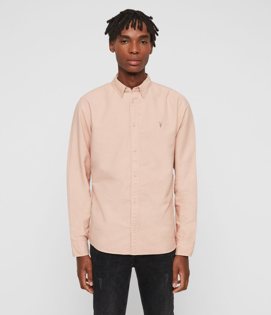 Men's Huntingdon Long Sleeve Shirt (black) - Image 1