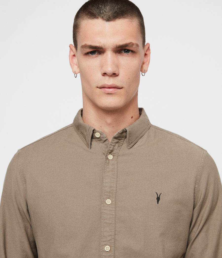 Mens Hungtingdon Shirt (beech_green) - Image 1