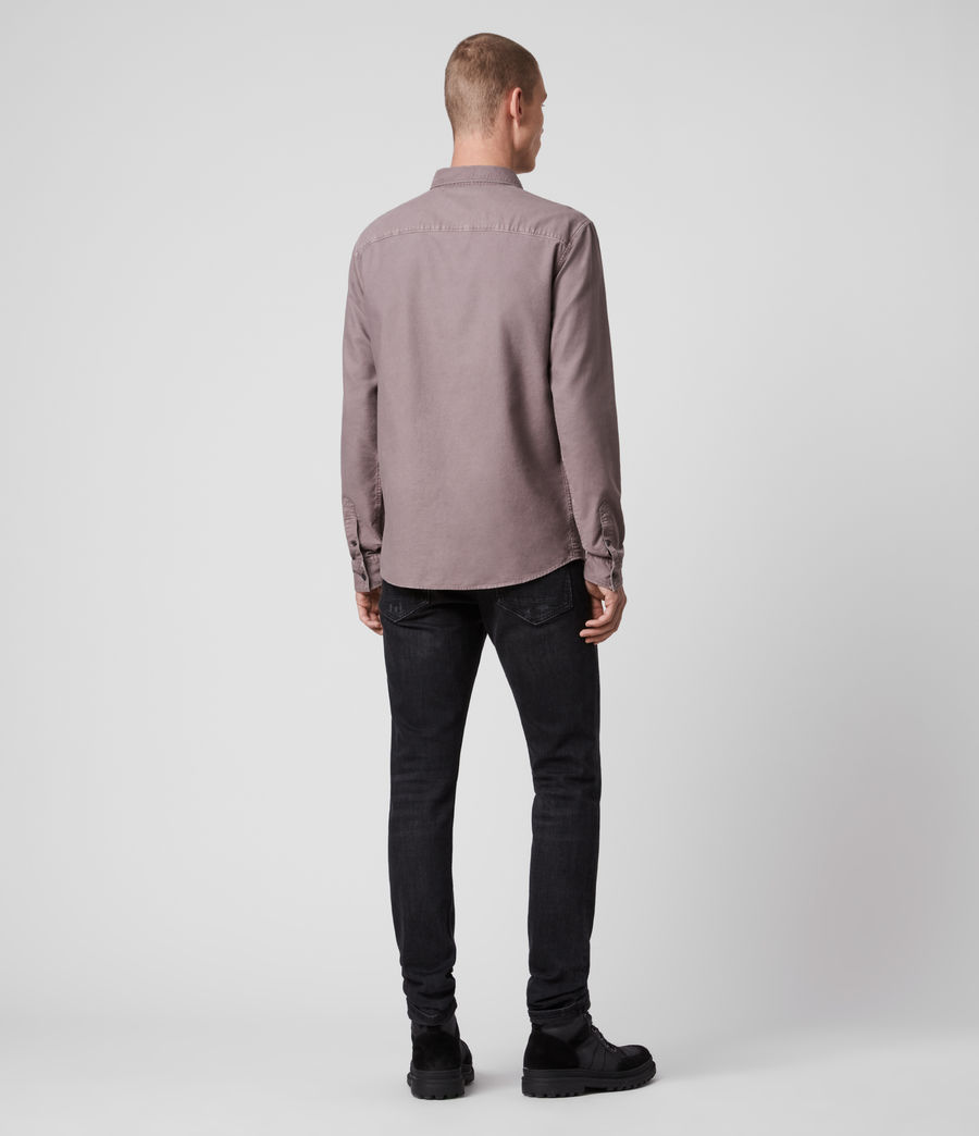 Hombre Huntingdon Long Sleeve Shirt (thistle_lilac) - Image 5