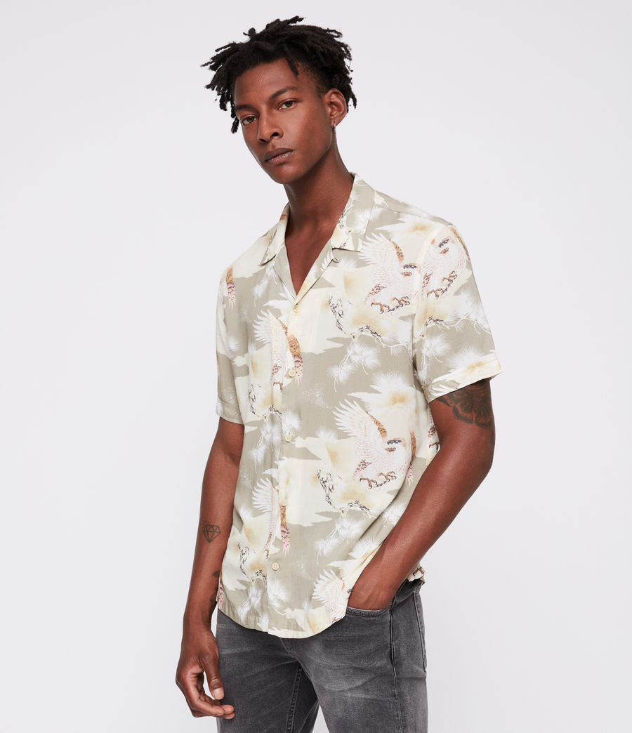 Men's Akashi Shirt (khaki) - Image 1