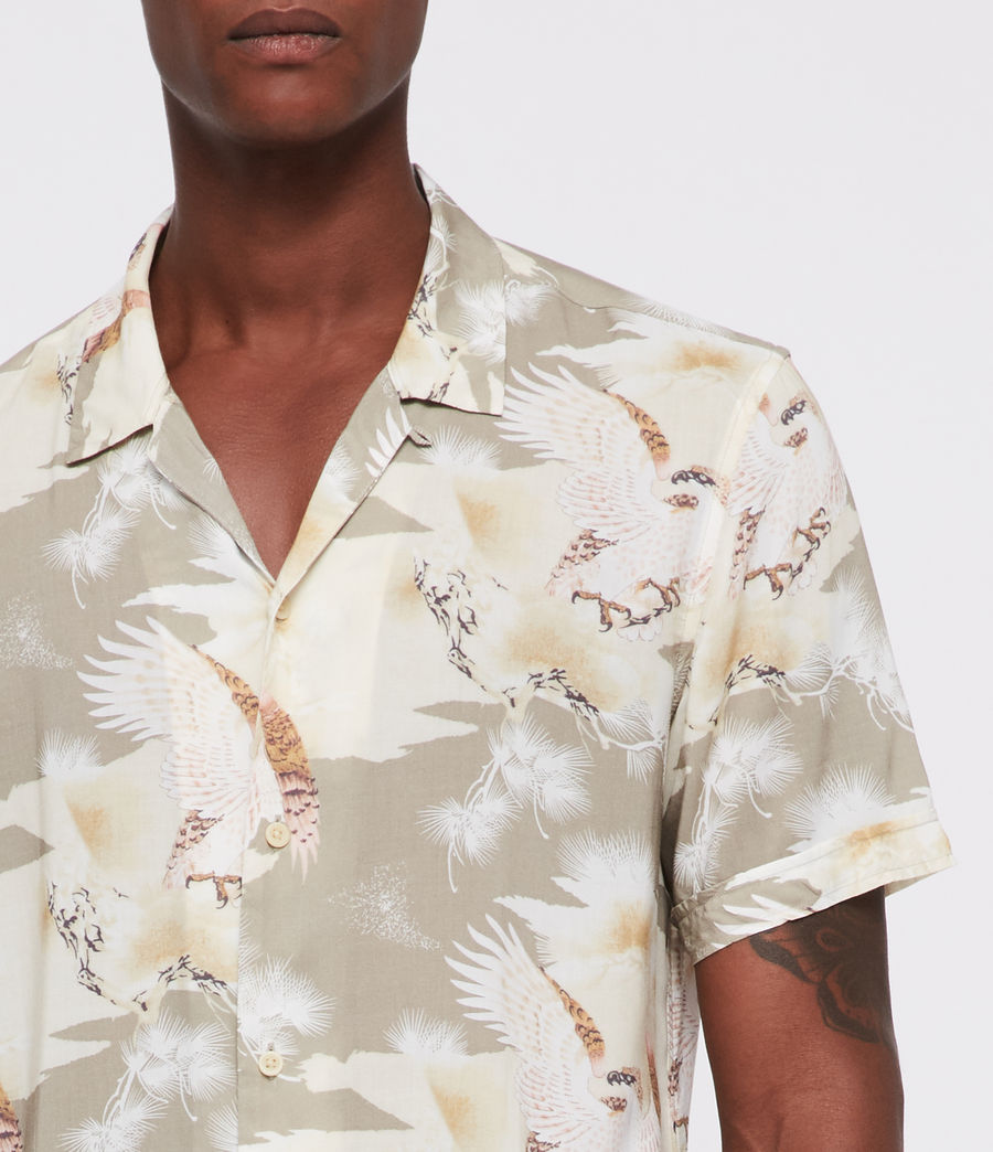 Men's Akashi Shirt (khaki) - Image 2