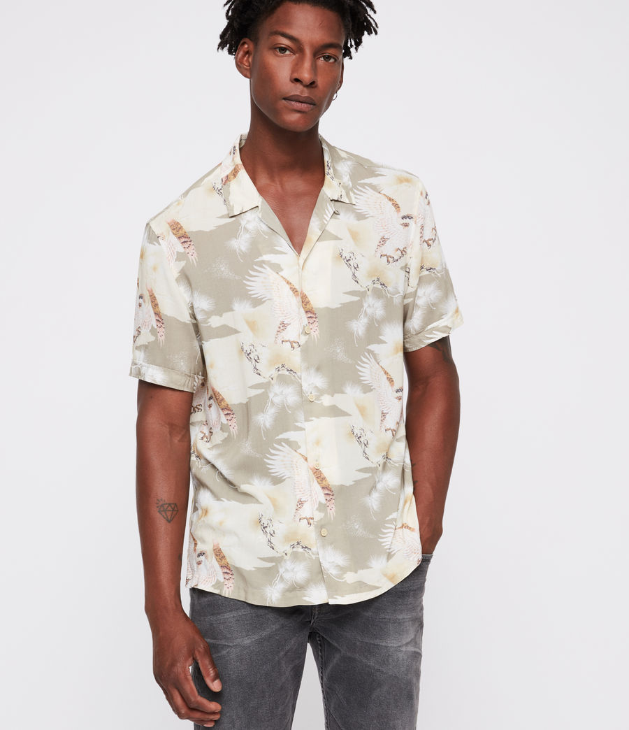 Men's Akashi Shirt (khaki) - Image 3