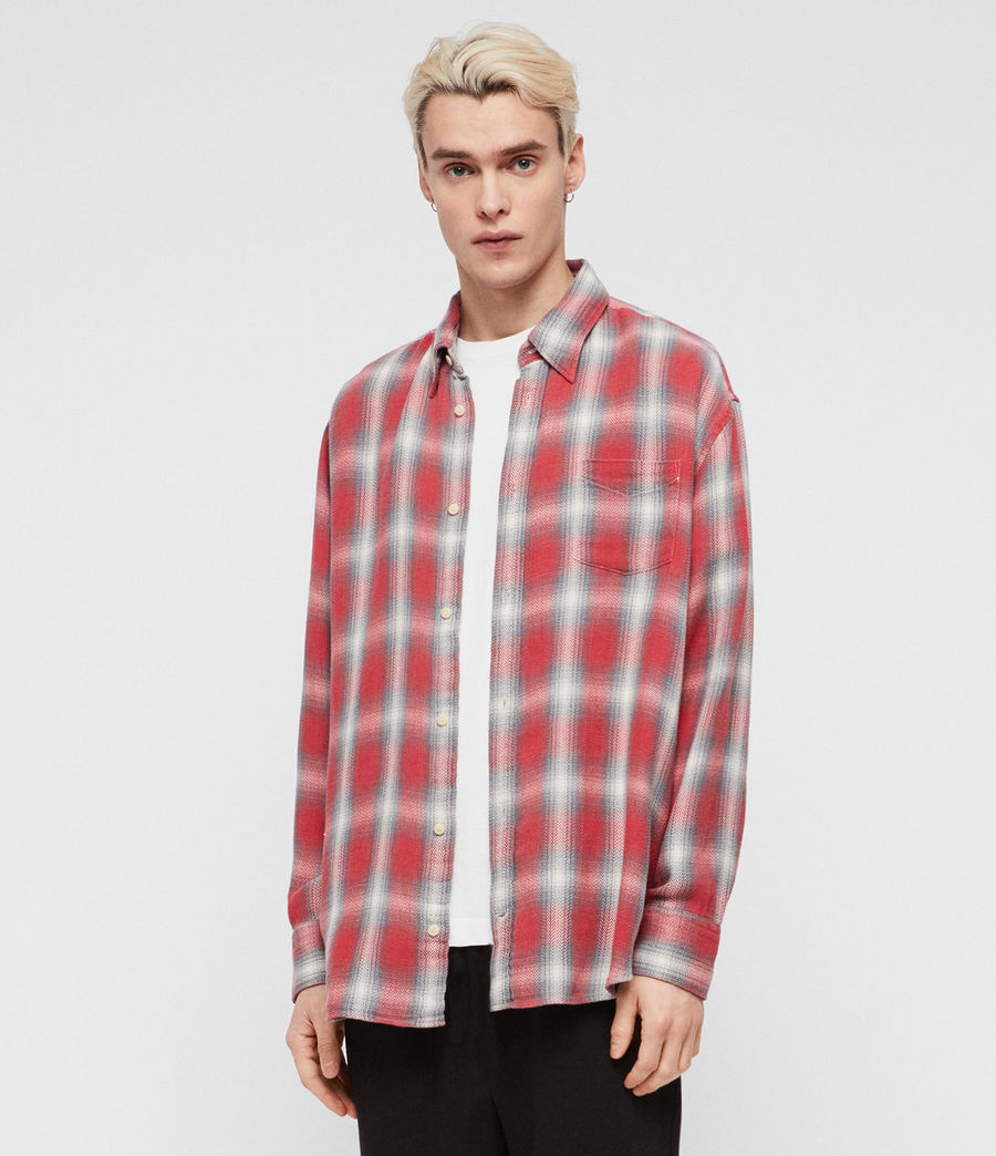 Men's Mannix Shirt (red) - Image 3