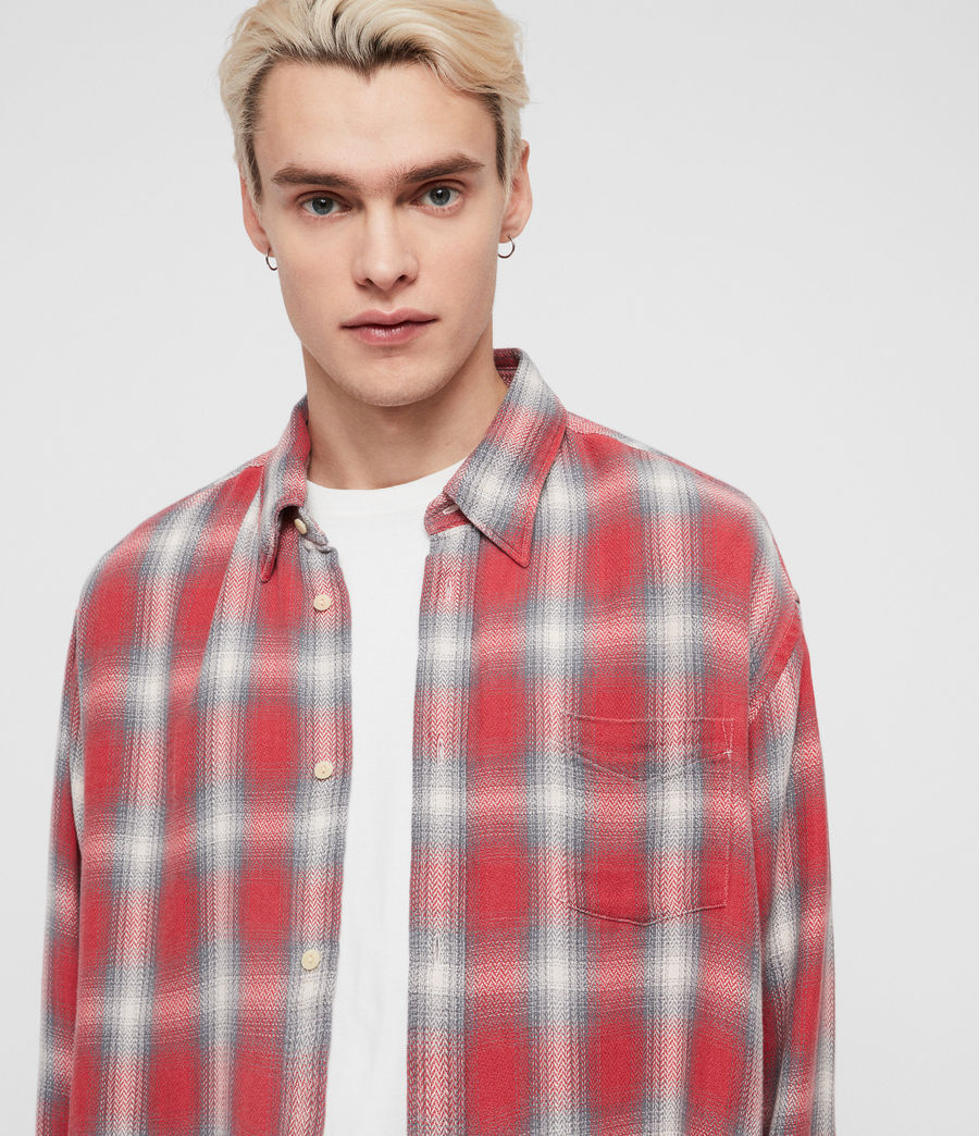 Men's Mannix Shirt (red) - Image 4