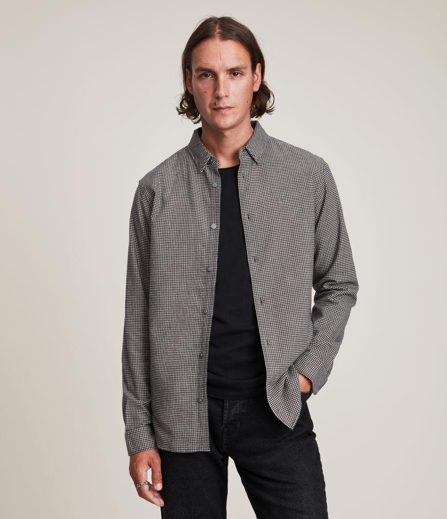 Mens Utica Shirt (black) - Image 1