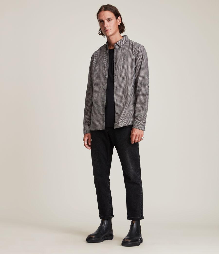Mens Utica Shirt (black) - Image 3