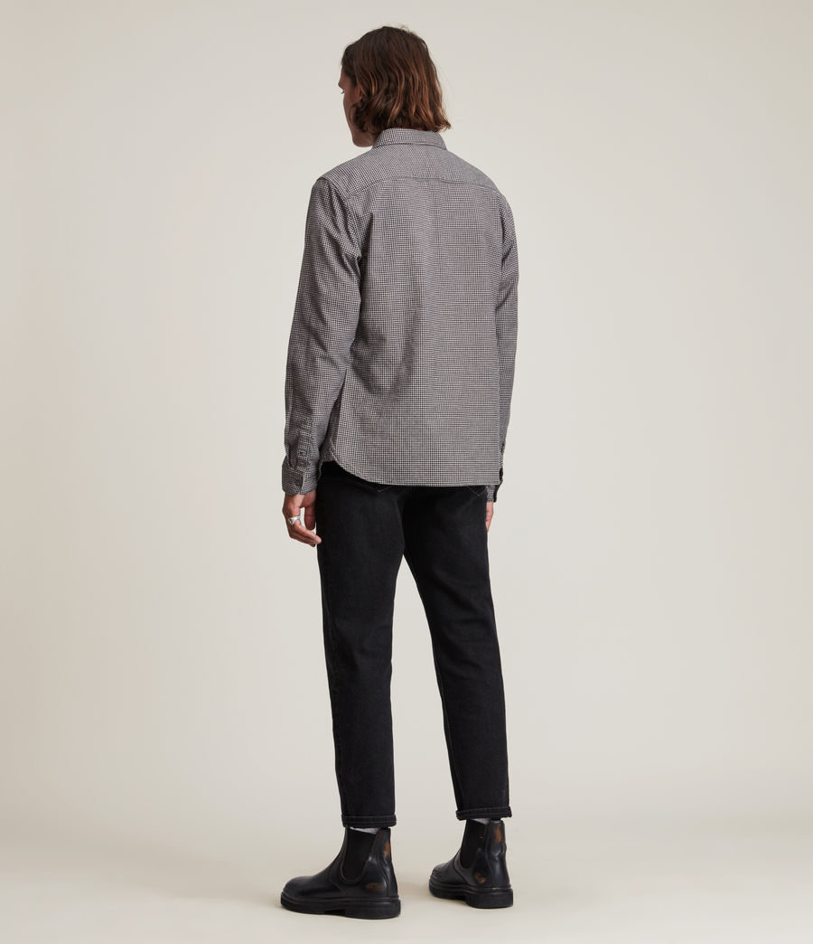 Mens Utica Shirt (black) - Image 4