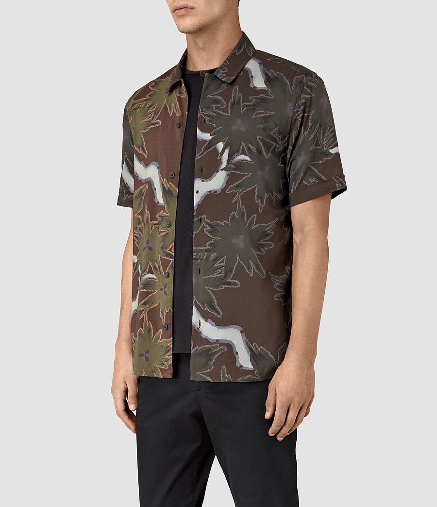 Hombre Zapata Short Sleeve Shirt (brown) - Image 2