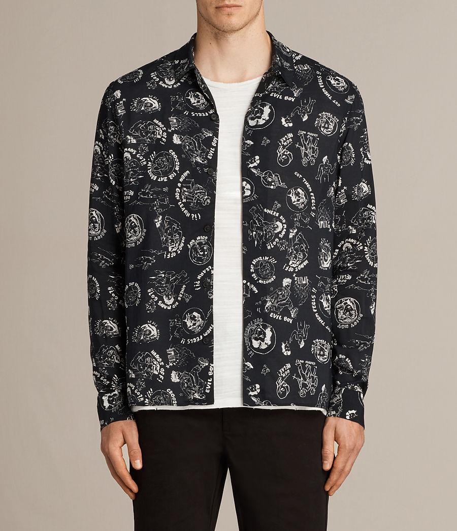 Mens Feels Shirt (black) - Image 1