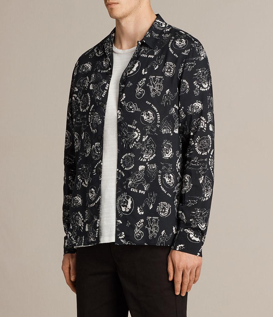 Mens Feels Shirt (black) - Image 3