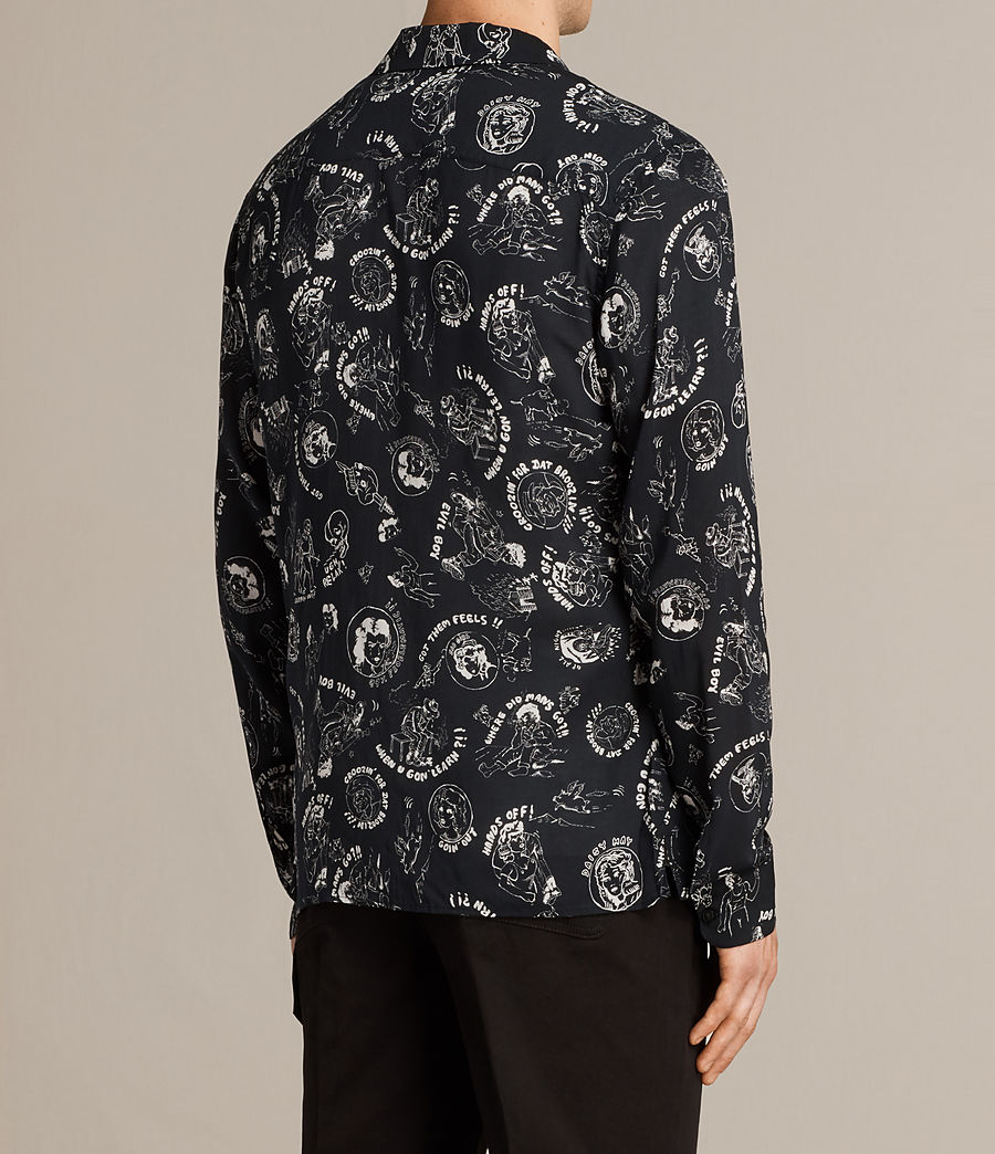 Mens Feels Shirt (black) - Image 4