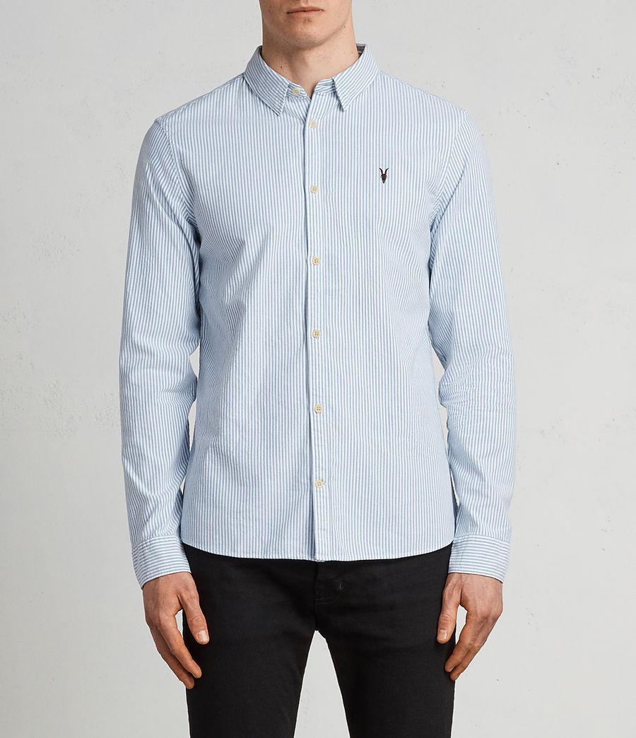 Men's Kilda Shirt (blue_stripe) - Image 1