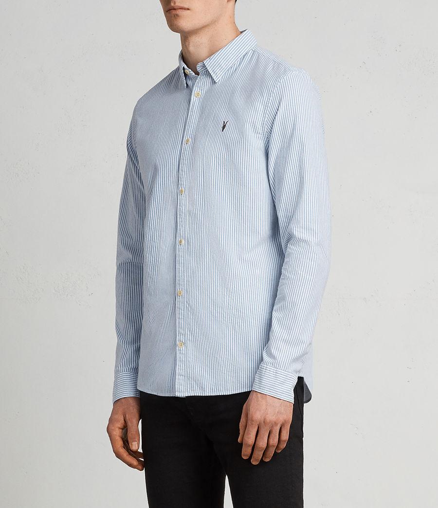 Men's Kilda Shirt (blue_stripe) - Image 3