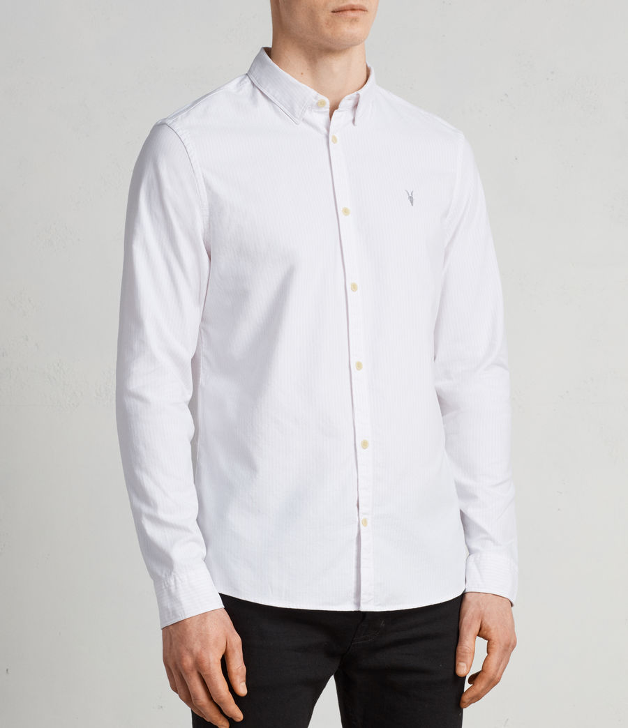 Men's Kilda Long Sleeve Shirt (MALO PINK) - Image 2