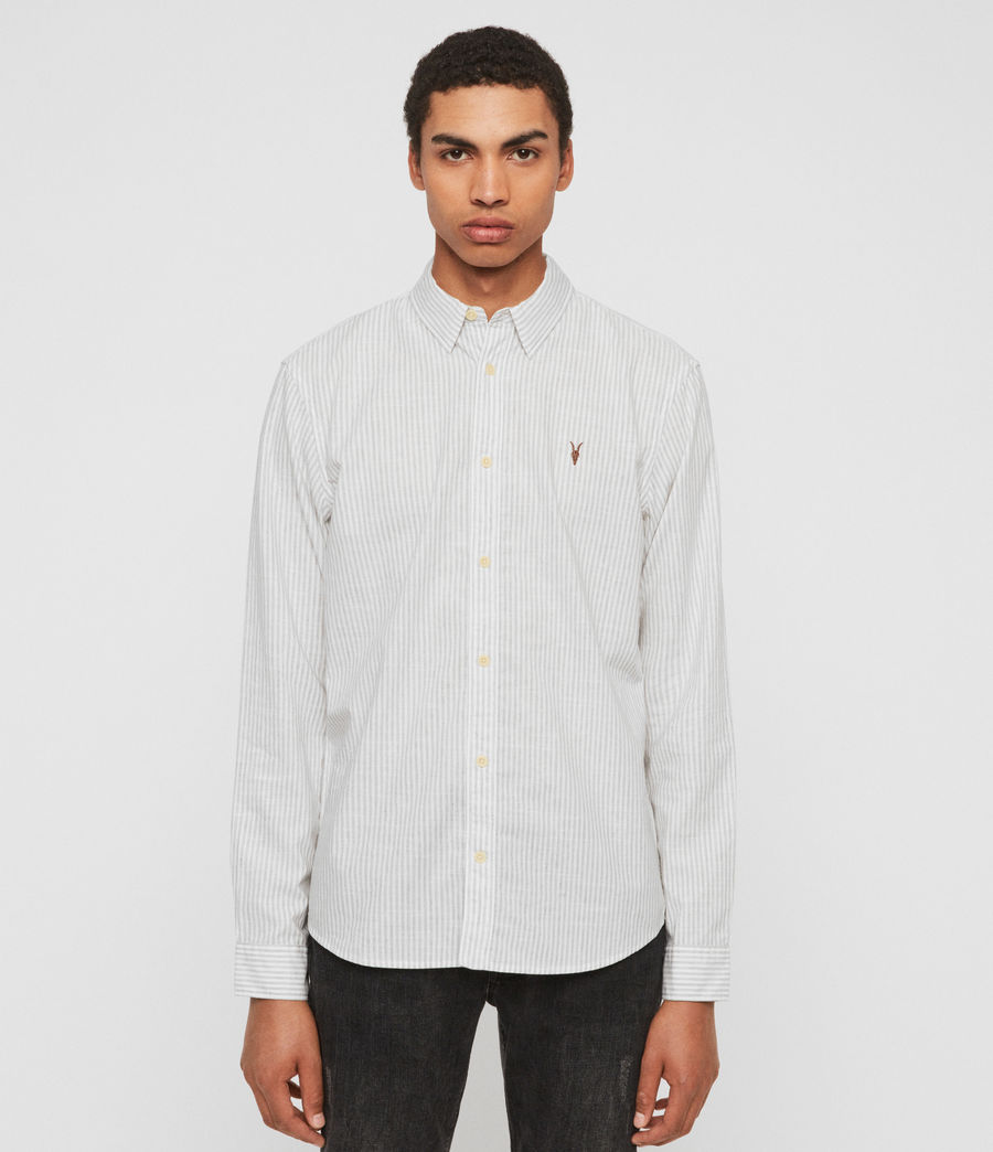 Hombres Dagget Shirt (grey) - Image 1