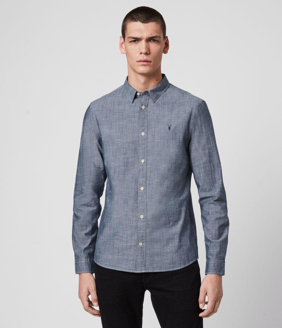 Mens Delancey Shirt (indigo_chambray) - Image 1