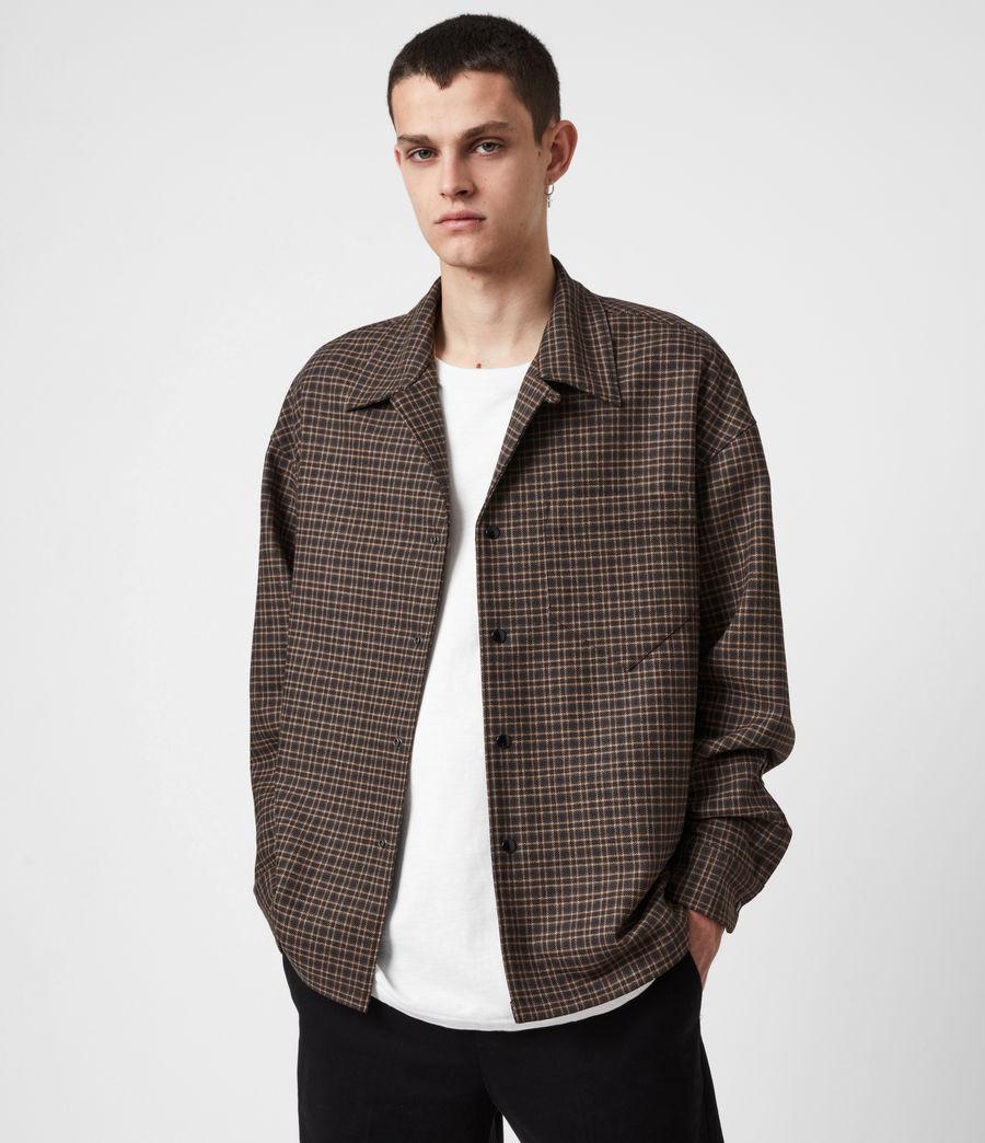 Hommes Dillon Shirt (black_brown) - Image 1