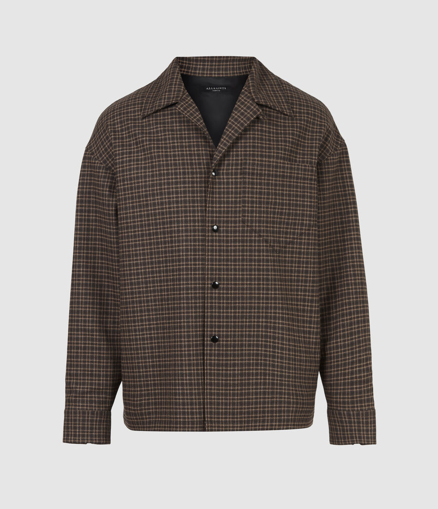 Hommes Dillon Shirt (black_brown) - Image 2