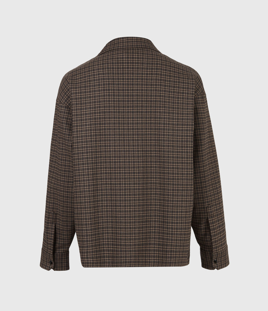 Hommes Dillon Shirt (black_brown) - Image 3