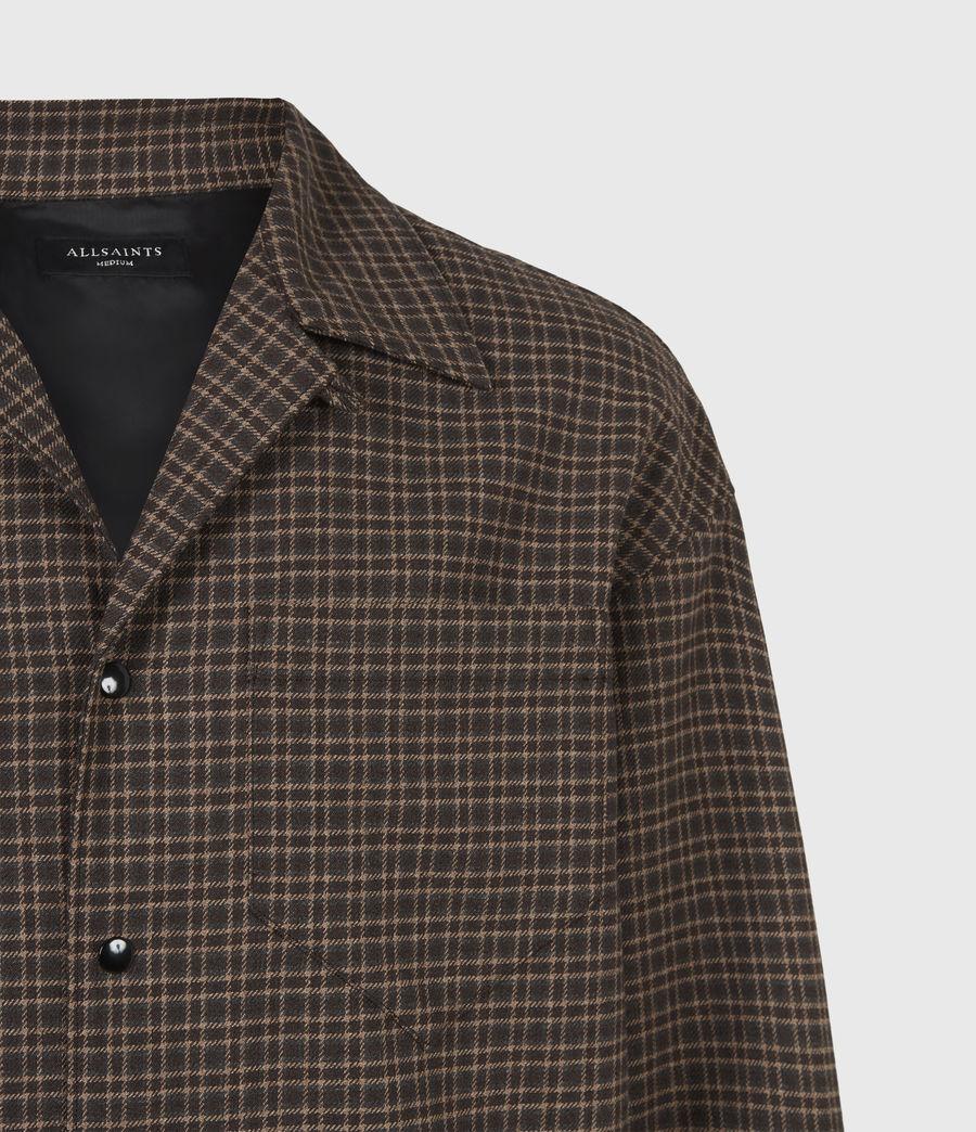 Hommes Dillon Shirt (black_brown) - Image 5