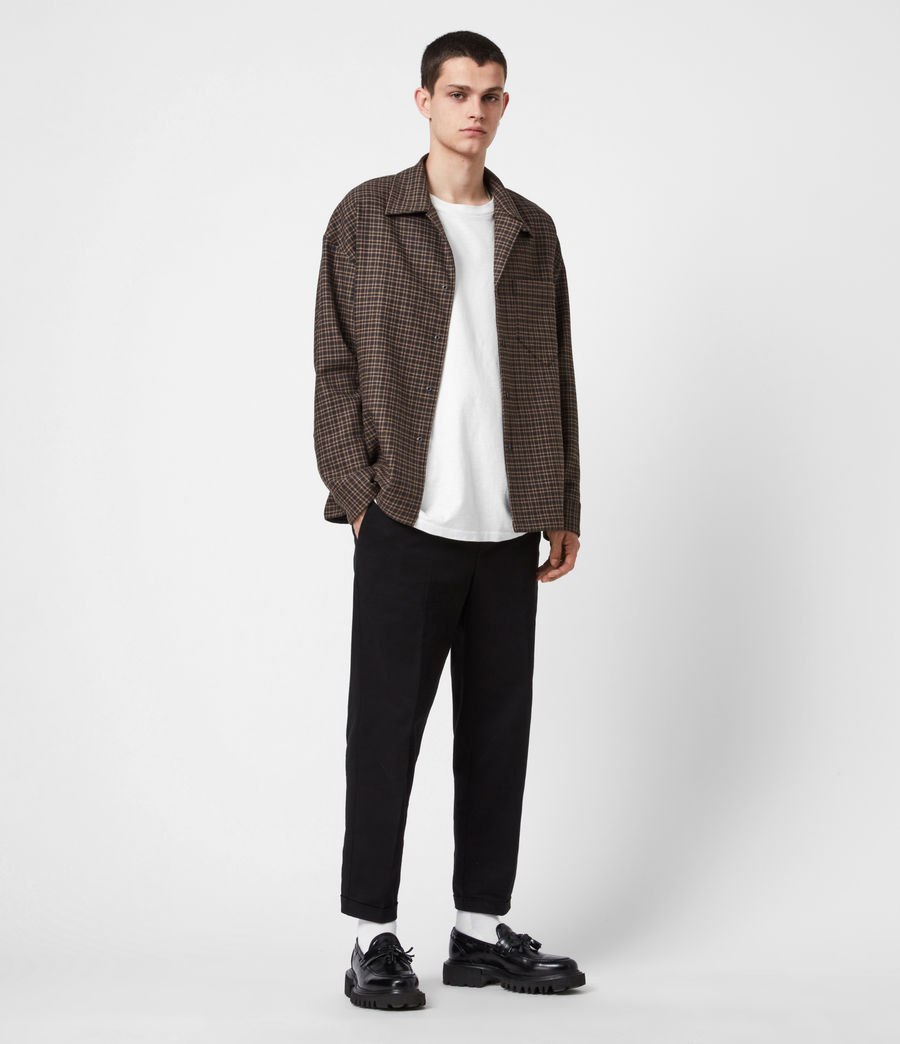 Hommes Dillon Shirt (black_brown) - Image 6