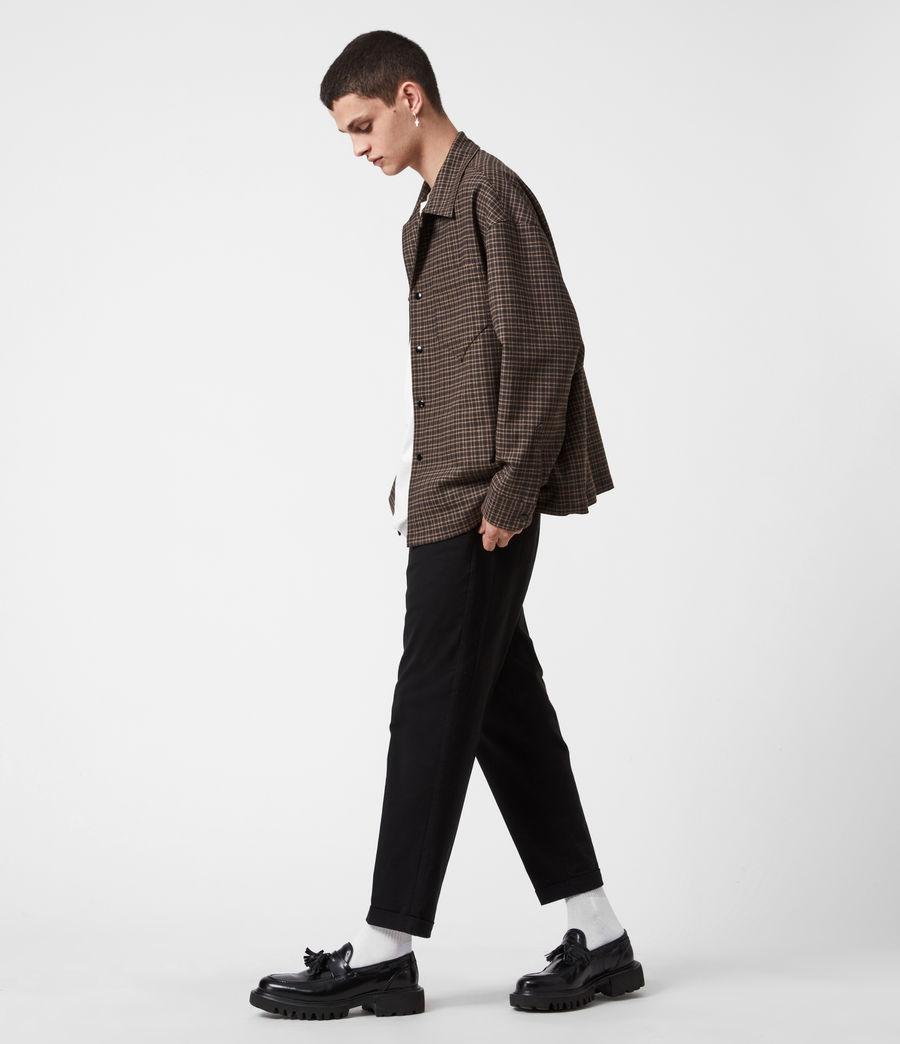 Hommes Dillon Shirt (black_brown) - Image 7