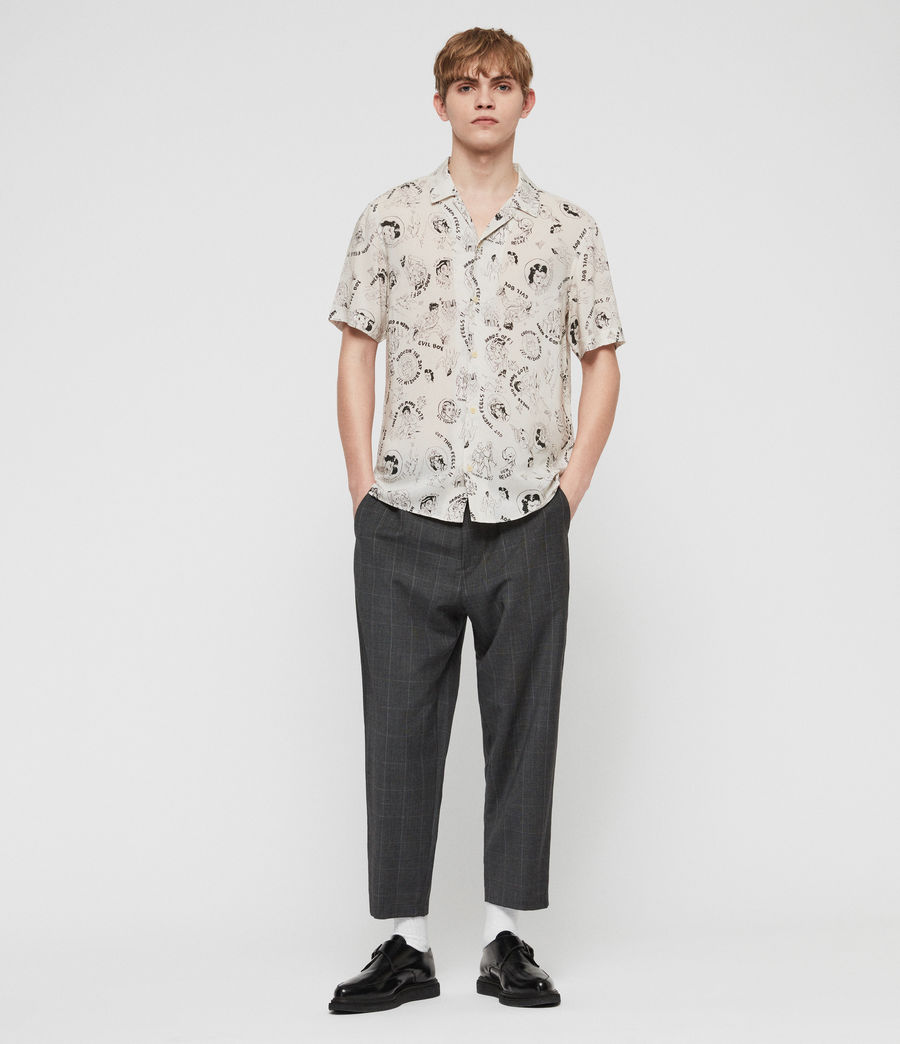 Mens Feels Shirt (ecru) - Image 2