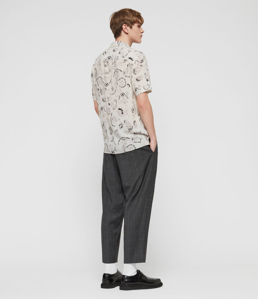 Mens Feels Shirt (ecru) - Image 5