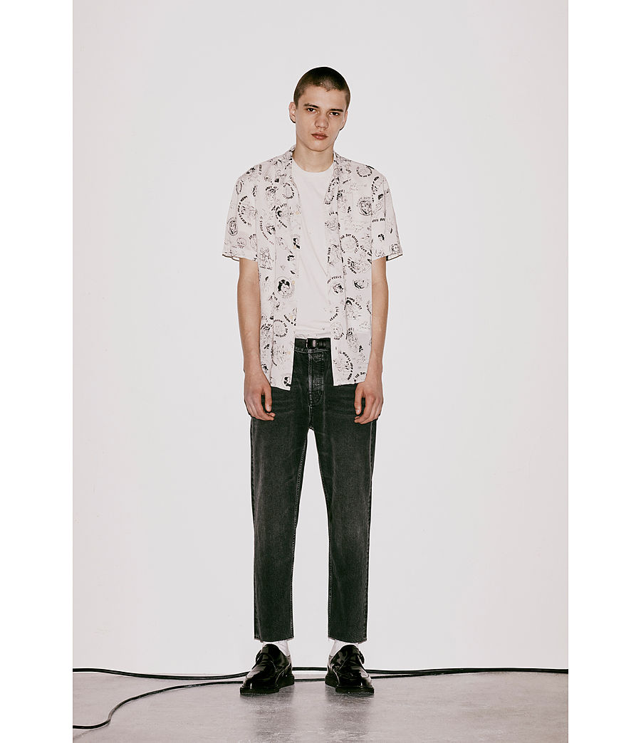 Mens Feels Shirt (ecru) - Image 6