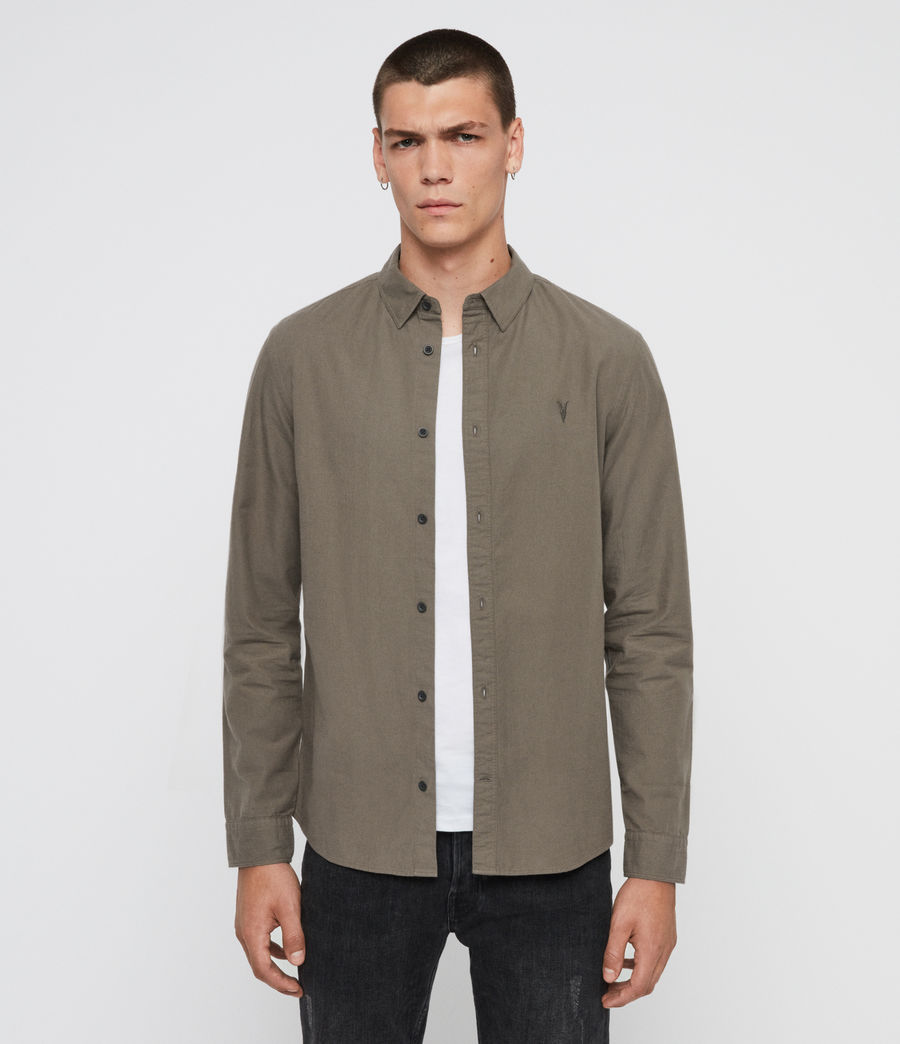 Mens Sulzer Shirt (khaki_green) - Image 1