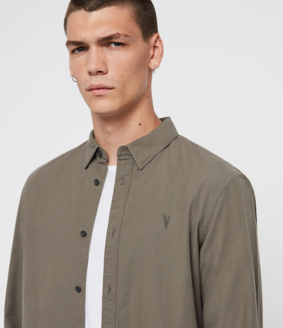 Men's Sulzer Shirt (charcoal_marl) - Image 2