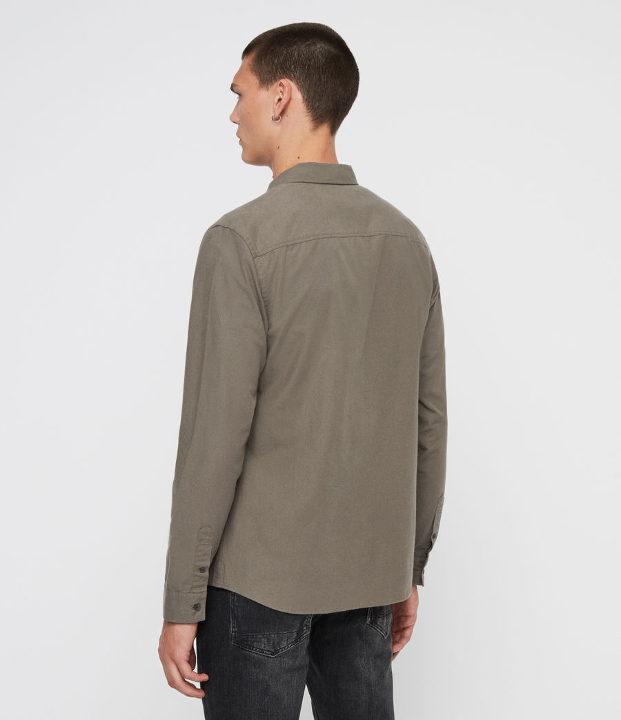Men's Sulzer Shirt (khaki_green) - Image 4