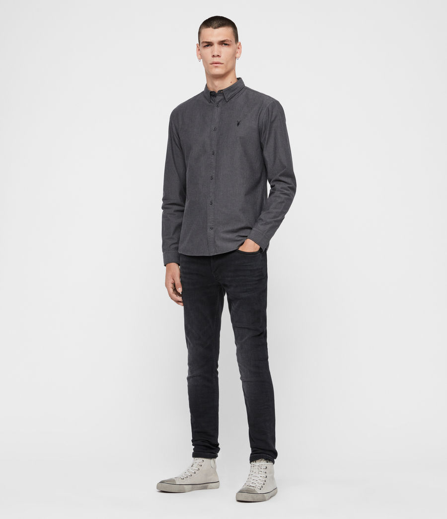 Mens Sulzer Shirt (charcoal_marl) - Image 3