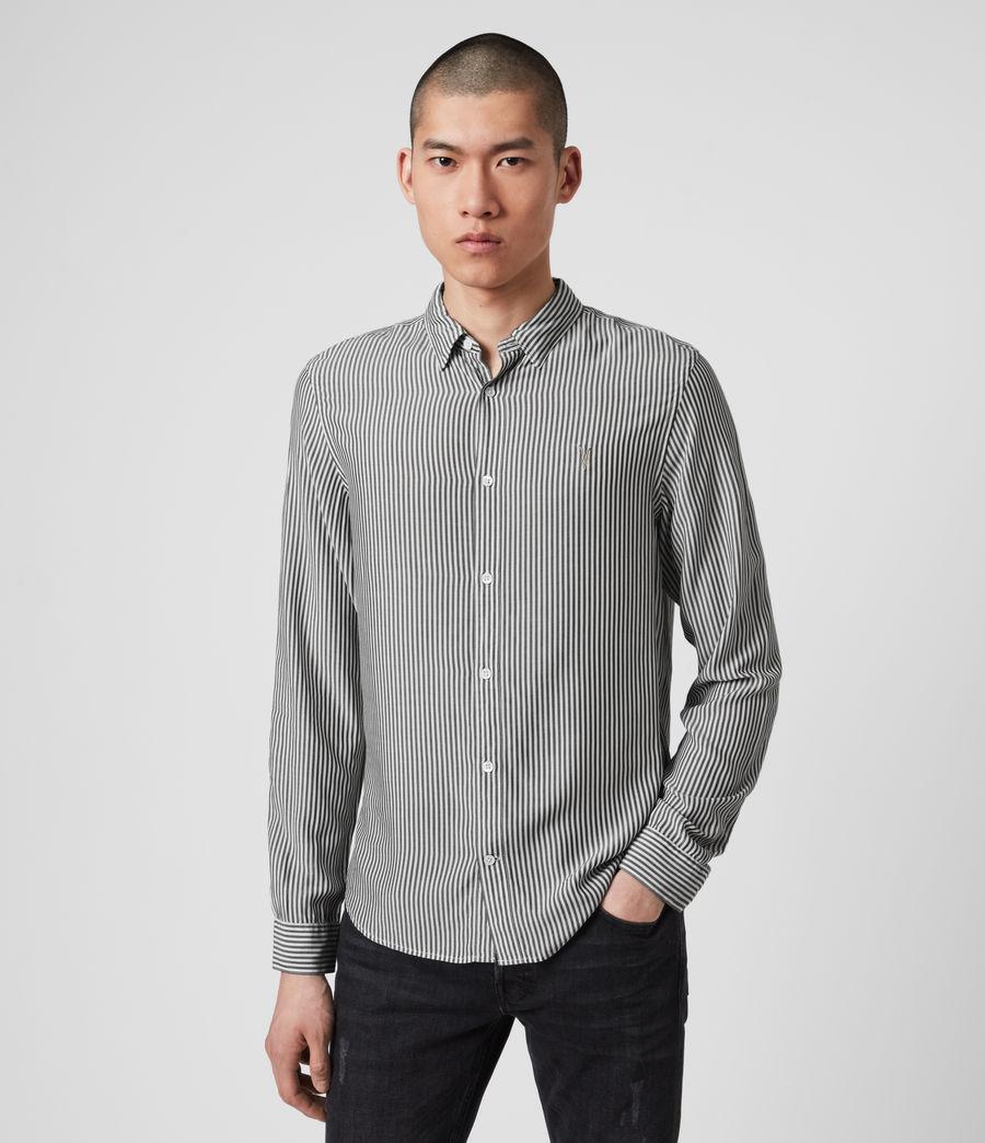 Hombre Stanton Shirt (white_black) - Image 1