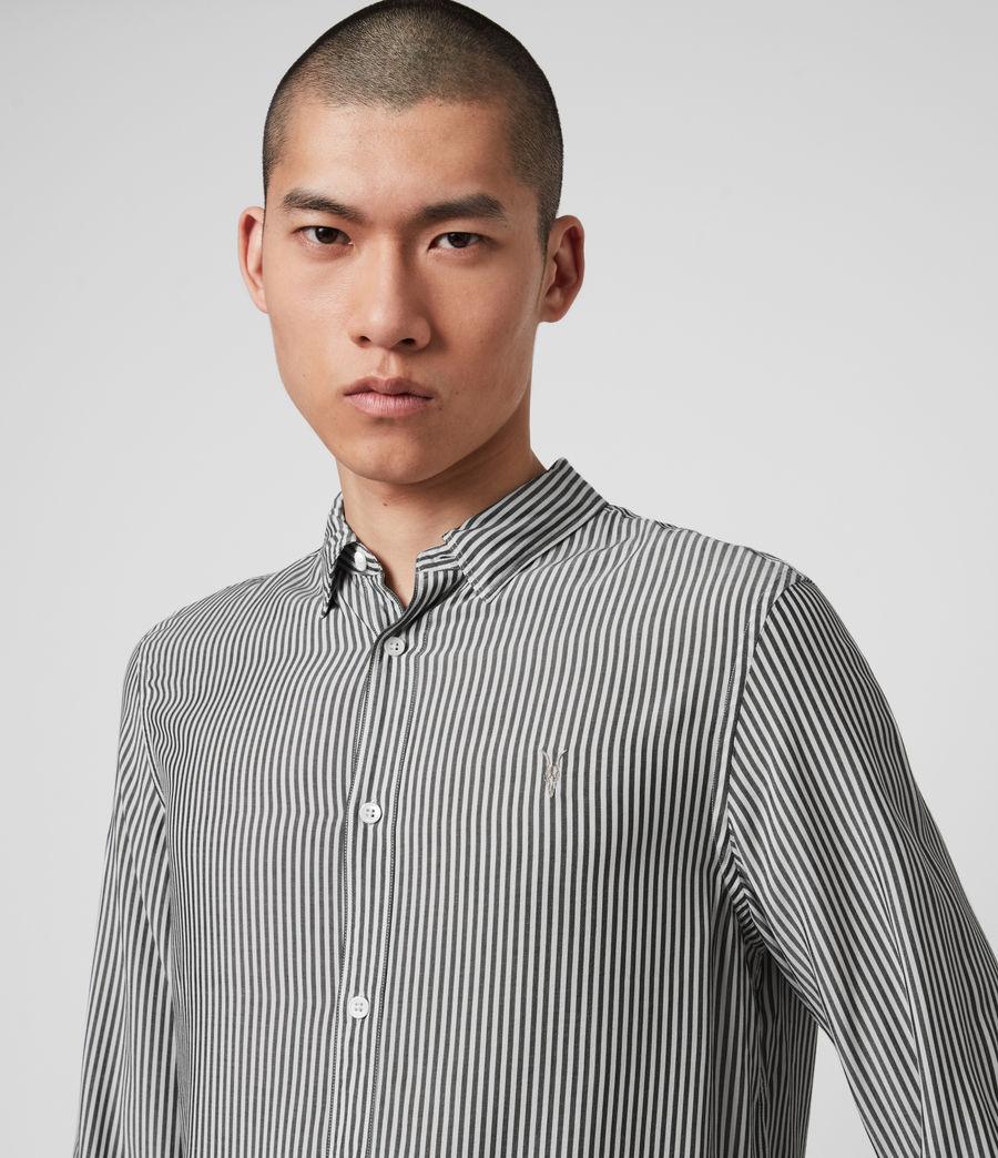Hombre Stanton Shirt (white_black) - Image 2